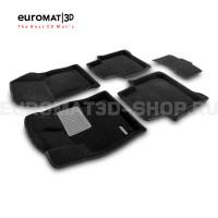 Текстильные 3D коврики Euromat3D Premium в салон для Skoda Kodiaq (2017-) № EMPR3D-004512