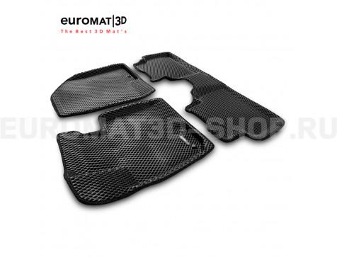 3D коврики Euromat3D EVA в салон для Hyundai ix35 (2009-2014) № EM3DEVA-002707